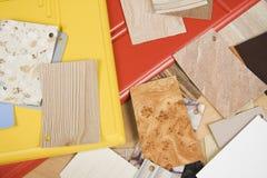 próbki texture różnorodnego Fotografia Stock