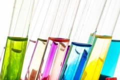 Próbne laboratorium tubki Zdjęcie Royalty Free