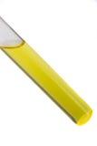próbnej tubki kolor żółty Fotografia Royalty Free