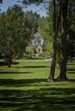 Próbny Tudor dom Zdjęcia Royalty Free