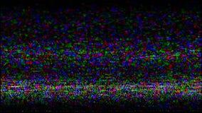 Próbny Tv Próbny sygnał VHS Błędu nagrywanie wideo zbiory wideo