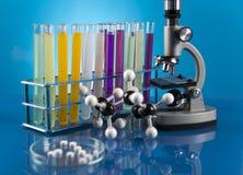 Próby kliniczne w laboratorium zdjęcia stock