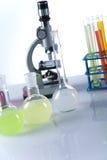 Próby kliniczne w laboratorium obraz stock