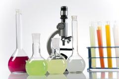 Próby kliniczne w laboratorium obrazy stock