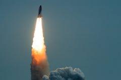 Próby rakiety wodowanie Obrazy Royalty Free