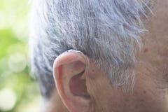 Prótese auditiva digital moderna Foto de Stock