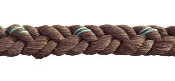 Próximo da corda isolado acima Fotografia de Stock