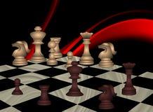 Pr?ximo passo no jogo de xadrez pense Ilustra??o do vetor ilustração royalty free