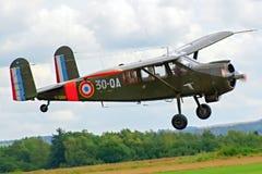 Prövkopiaflygplanairshow Royaltyfria Foton