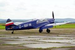 Prövkopiaflygplanairshow Arkivbilder