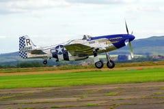 Prövkopiaflygplanairshow Royaltyfri Foto