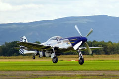 Prövkopiaflygplanairshow Royaltyfri Bild