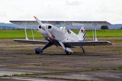 Prövkopiaflygplanairshow Arkivfoton