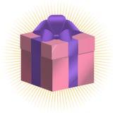 Prövkopiagåvaask, gåvapacke Vektor Illustrationer