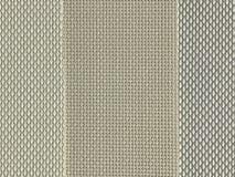 Prövkopian av brunt och grå färger wooven PVC-tygtextur Fotografering för Bildbyråer