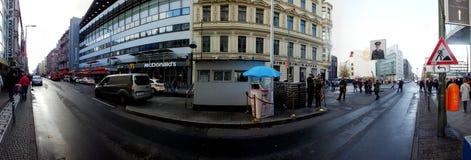Prüfpunkt Charlie in Berlin, Deutschland Stockbild