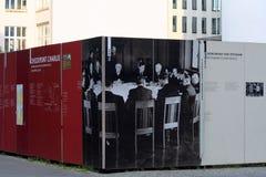 Prüfpunkt-Charlie-Denkmal Lizenzfreies Stockfoto