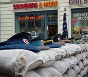 Prüfpunkt der AMERIKANISCHEN Armee. Berlin Lizenzfreie Stockfotografie