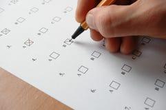 Prüfung stockbilder