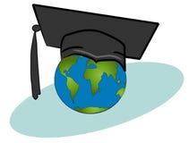 Prüfung in der Geographie lizenzfreie abbildung