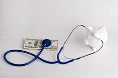 Prüfung der Gesundheit Ihrer Sparungen lizenzfreies stockbild