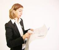 Prüfung der Pläne Lizenzfreie Stockbilder