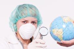 Prüfung des Gesundheitszustandes Lizenzfreie Stockfotografie