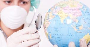 Prüfung des Gesundheitszustandes. Lizenzfreies Stockbild