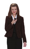Prüfung des Handys Lizenzfreies Stockfoto