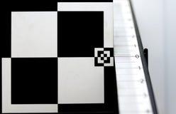 Prüfung des Kameraobjektivs Lizenzfreies Stockfoto