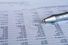 Prüfung des Schwerpunkts Lizenzfreie Stockfotos