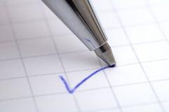 Prüfung geführt Lizenzfreies Stockfoto