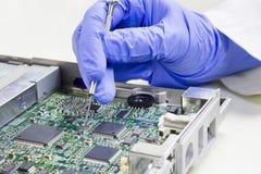 Prüfung von Elektronik Lizenzfreie Stockbilder