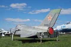 Prüfungsfahrzeug des Platzes MiG-105 stockfotos