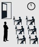 Prüfungshalle Stockbilder