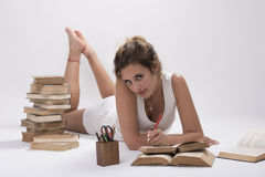 Prüfungsvorbereitung Lizenzfreies Stockfoto