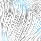 Prążkowany szary błękit abstrakcjonistyczny deseniowy bezszwowy prążkowana sztuka pociągany ręcznie Zdjęcie Stock