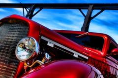 prącia amerykański klasyczny gorący czerwony mknięcie Obraz Royalty Free
