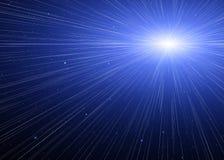 Prędkość światła. Fotografia Stock