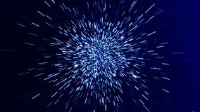 Prędkość, abstrakt, technologii nauki futurystyczny tło royalty ilustracja