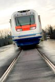 prędkość elektryczni wysocy pociągi Zdjęcia Stock