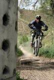 prędkość na rowerze obraz stock