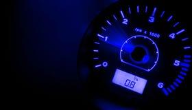 prędkość niebieski Zdjęcie Royalty Free