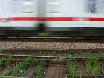 prędkość pociągu Zdjęcie Royalty Free