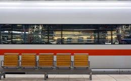 prędkość pociągu Fotografia Stock