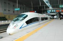 prędkość porcelanowy wysoki pociąg Obrazy Stock
