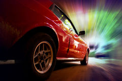 Prędkość samochód Fotografia Stock