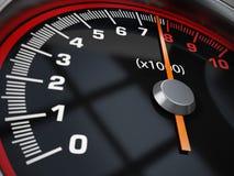Prędkość wymiernik Zdjęcie Stock