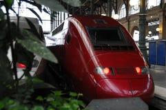 prędkość wysoki pociąg Obrazy Royalty Free