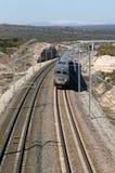 prędkość wysoki pociąg Zdjęcie Royalty Free